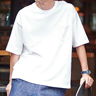 トレンドのビックシルエットTシャツ