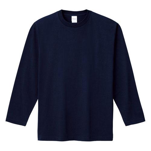 00101-LVC ベビーウェイト長袖リブ無しカラーTシャツ 5.6oz