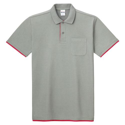 00195-BYP ベーシックレイヤードポロシャツ 5.8oz