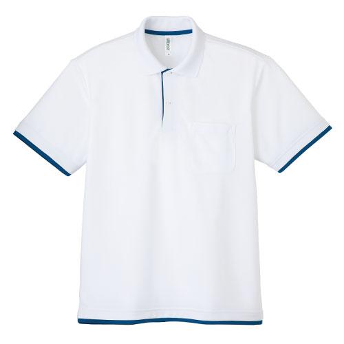 00339-AYP ドライレイヤードポロシャツ 4.4oz