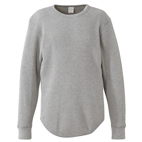 3960 ヘヴィーウェイト ワッフル ロングスリーブTシャツ 10.6oz