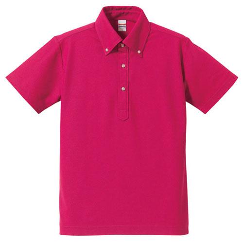 5052 ドライカノコ ユーティリティーポロシャツ 5.3oz(ボタンダウン)