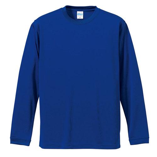 5089 ドライシルキータッチロングスリーブTシャツ 4.7oz