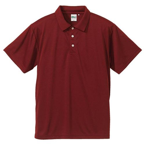 5090 ドライシルキー タッチポロシャツ 4.7oz