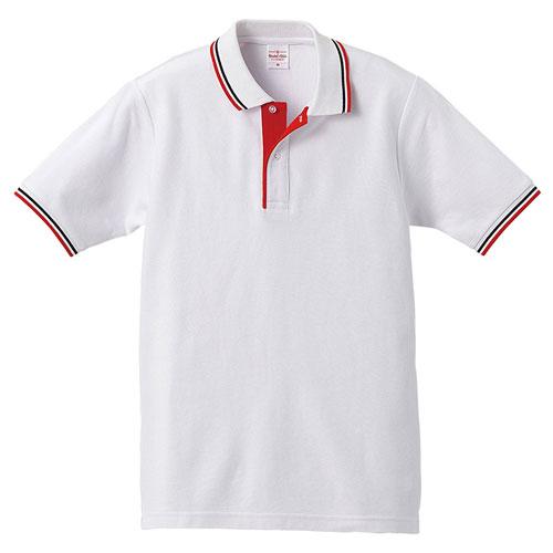定番のラインカラーポロシャツ
