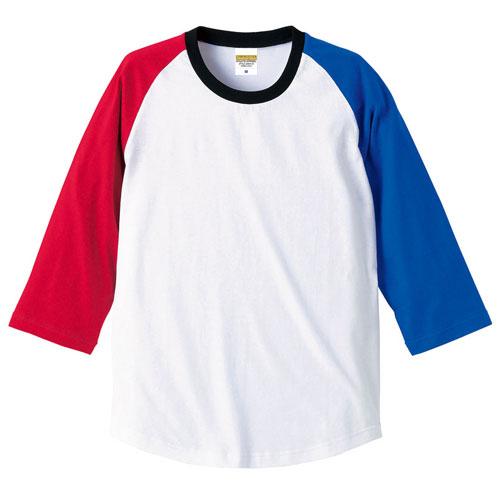 5404 ラグラン3/4スリーブTシャツ 5.0oz