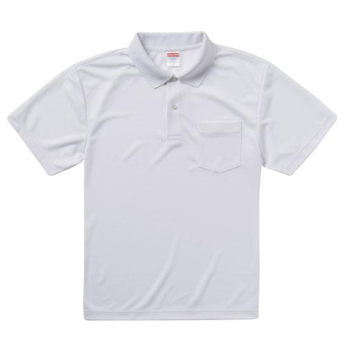 5912 ドライアスレチックポロシャツ 4.1oz(ポケット付)