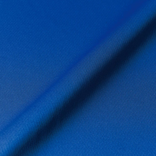 表面はフラットな編み地でプリントなどの二次加工に最適です