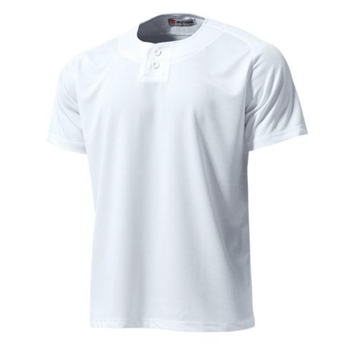 P2710 セミオープンベースボールシャツ