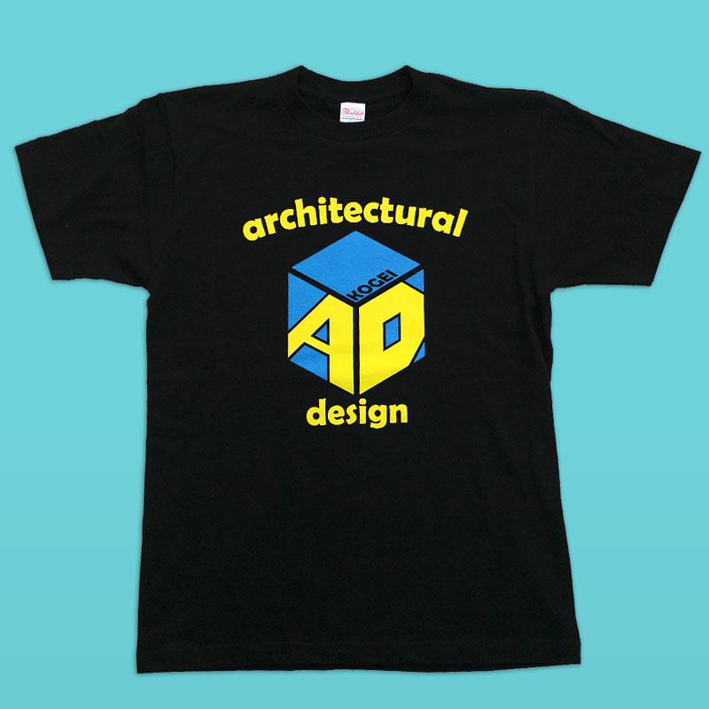 工芸高校、建築学部のオリジナルTシャツです