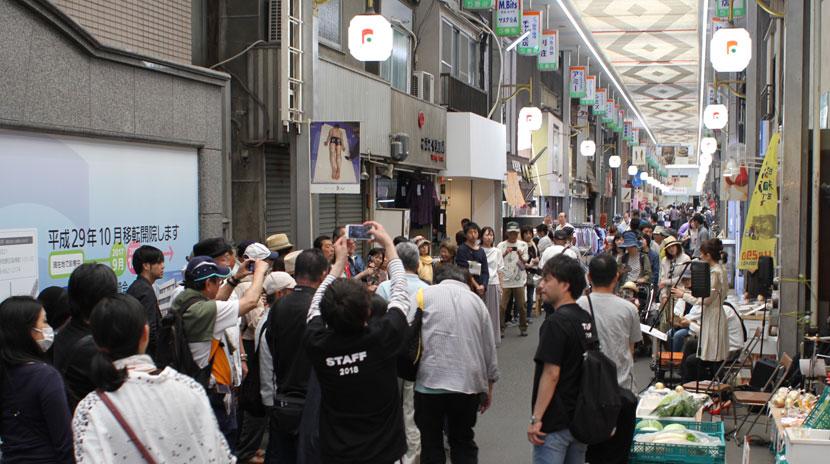 どっぷり昭和町文の里商店街